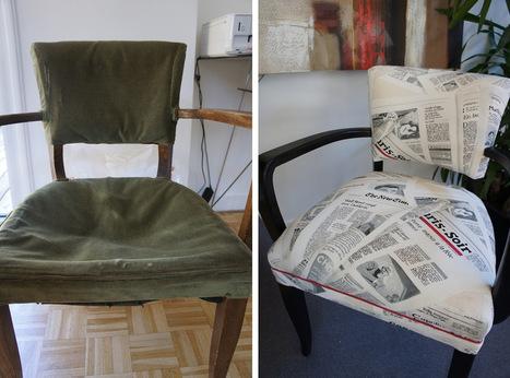 Tapissier d'ameublement : retapisser un fauteuil Bridge | L'atelier du ... | Cours Réfection Fauteuil | Scoop.it