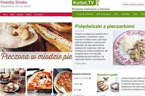 Ranking najpopularniejszych blogów. Kulinarne i długo, długo nic. Skąd ten fenomen e-gotowania? | Blogosfera | Scoop.it
