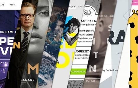 L'inspiration webdesign du mois #9 | #Graphisme #Webdesign #Communication #Publicité | Scoop.it