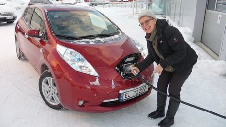 Why do they love electric cars in the Arctic Circle? - BBC News | car batteries | Scoop.it