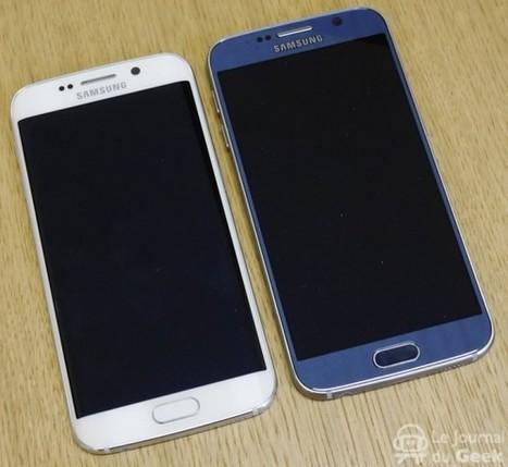 Test : Samsung Galaxy S6 et Galaxy S6 Edge | L'actualité du monde des smartphones | Scoop.it