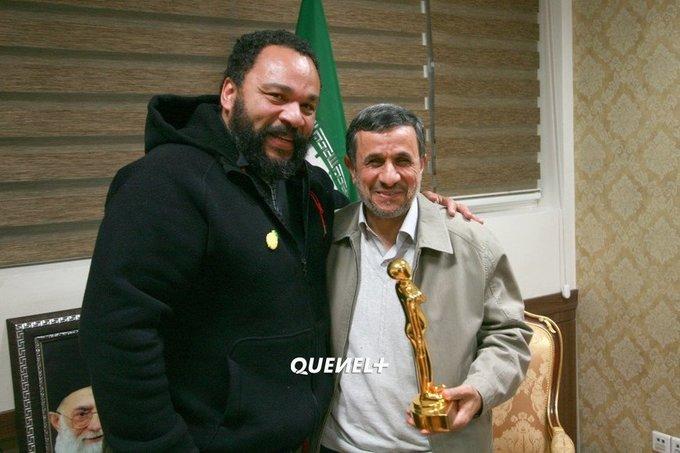 Dieudonne rencontre mahmoud ahmadinejad
