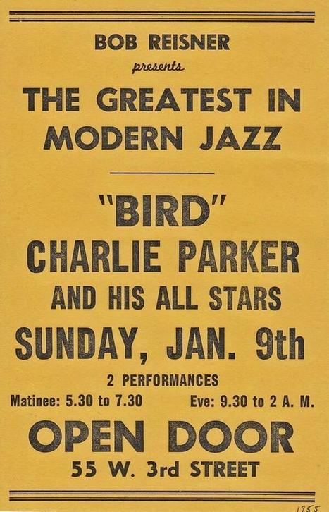 Bird (1955) | Jazz Plus | Scoop.it