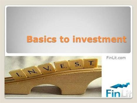 Basics to Investment | Financial Planning | Scoop.it