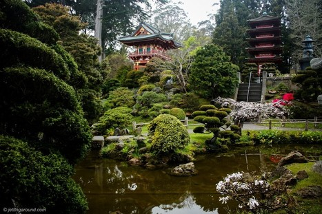 The San Antonio Japanese Tea Garden, or Sunken... | A Love of Japanese Gardens | Scoop.it