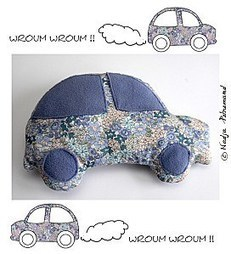 Tuto doudou voiture | Couture facile | Scoop.it