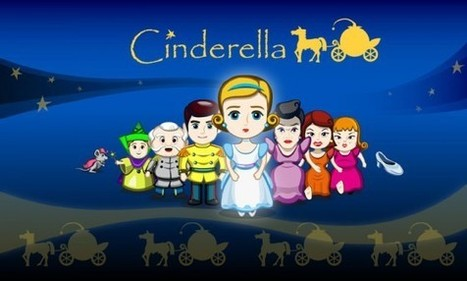 Cinderella 3D Popup Fairy Tale - Latest Android Apps Review | Android Apps for Education | Scoop.it