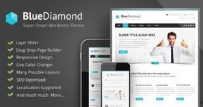 Blue Diamond - Responsive Corporate WP Theme Ver 1.09 | Wordpress Themes | Scoop.it
