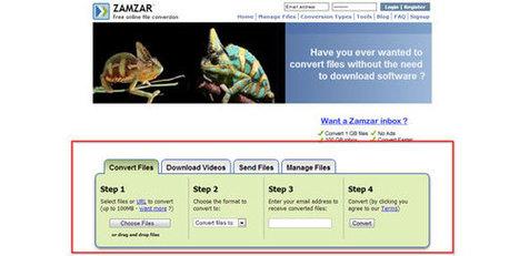 Convert Open Office Presentations .ODP to .PPT using ZamZar | Aprendiendoaenseñar | Scoop.it