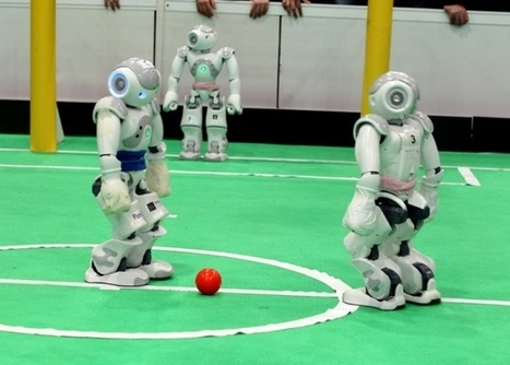 Robots face off in soccer competitions in Iran | Robots and Robotics | Scoop.it