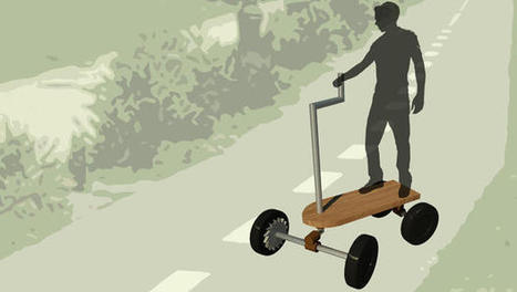 A Nature-Inspired Scooter Reinvents The Cargo Bike So That It's Easier To Pedal   Biomimicry   Scoop.it
