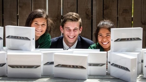 New Plymouth students given new iPads | Curtin iPad User Group | Scoop.it
