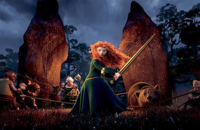 Main character in 'Brave' fits trend toward realistic female heroines   Deseret News   Brave - Changing Faces of Disney Princesses   Scoop.it