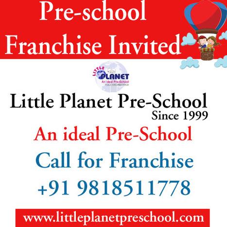 Preschool franchise is best among all franchise businesses | Preschool & Play School in India | Scoop.it