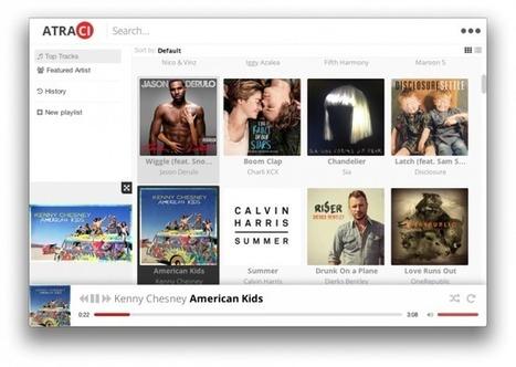 Atraci - Ecoutez de la musique sous Windows, OSX et Linux « Korben | Art et Culture, musique, cinéma, littérature, mode, sport, danse | Scoop.it