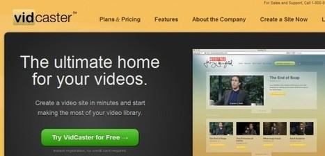 vidcaster – Crea en pocos minutos tu propio portal de vídeos | VIM | Scoop.it