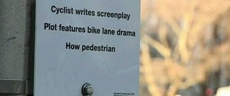 New York uses poetry to promote pedestrian safety | Strange days indeed... | Scoop.it