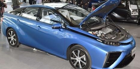 """Pile à combustible : la """"Mirai"""" de Toyota roule à l'hydrogène   Technique Histoire Enjeux contemporains   Scoop.it"""