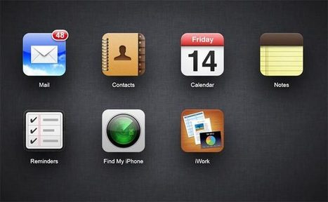 Apple Launches New iCloud Website With New Features » Geeky Gadgets | WEBOLUTION! | Scoop.it