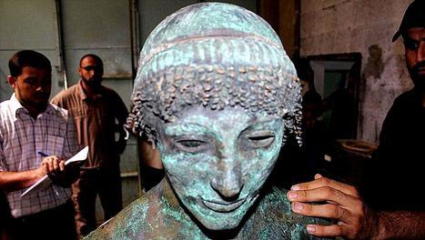 L'encombrante statue de l'Apollon de Gaza   Archivance - Miscellanées   Scoop.it