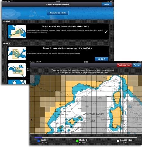 MaxSea TimeZero on iPad – Navigation Mac   Sailing and Regatta : Apps, SW & Tracking   Scoop.it