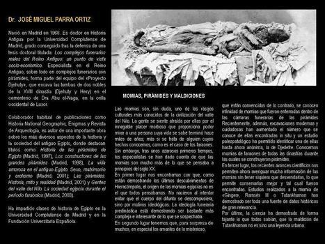 Momias, pirámides y maldiciones. - IVDE - Instituto Valenciano de Egiptología | Cursos, congresos, seminarios, excavaciones.... | Scoop.it
