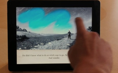 Pixar animator sets the bar for storytelling books on iPad – Apple / Mac Software Updates, News, Apps | Geek.com | Story Route | Scoop.it