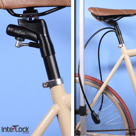 Interlock Bike Lock Actually Works, Is A Great Idea | OhGizmo! | Cars and Road Safety | Scoop.it