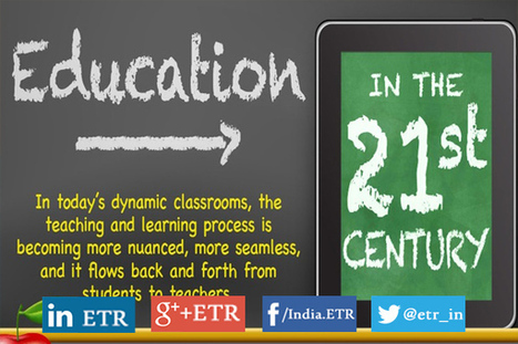 [Infographic] Education in the 21st Century - EdTechReview™ (ETR) | Distance Learning and Collaboration: Focus on Flipped and MOOC's | Scoop.it