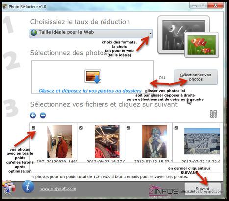 Tuto - Photo Réducteur réduire le poids et la taille de vos photos selon leur destination   Je, tu, il... nous !   Scoop.it