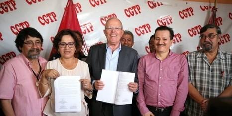 Kuczynski ratifica COMPROMISOS con la CGTP | La actualidad peruana vista desde el extranjero | Scoop.it