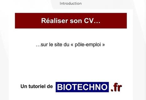 Module e-learning : Réaliser son CV sur le site Pôle-Emploi | Culture Mission Locale | Scoop.it