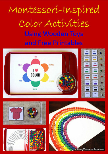 Montessori-Inspired Color Activities Using Wooden Toys and Free Printables | Montessori Inspired | Scoop.it