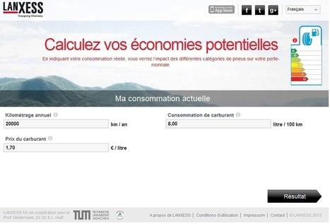 Etiquette-pneus.com : l'étiquetage de vos pneus | Calculatrice d'économies selon le grade de vos pneus | Info-Pneus : actus, conseils, promos | Scoop.it