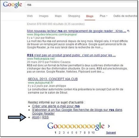RSS et Google alerte: le retour et autres considérations | François MAGNAN  Formateur Consultant | Scoop.it