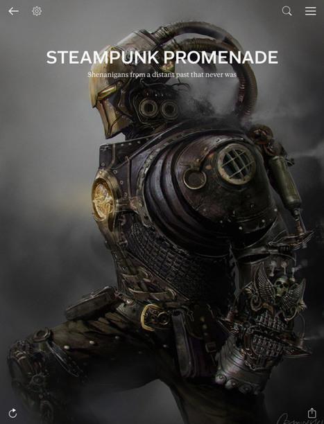 Steampunk Promenade | Ficção científica literária | Scoop.it