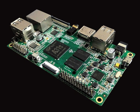 """Orange Pi Development Boards Are Raspberry Pi """"Clones"""" based on Allwinner A20 and A31s   Embedded Systems News   Scoop.it"""