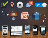 Keynotopia UI templates help you design and prototype apps in minutes instead of hours. | ios7 | Scoop.it