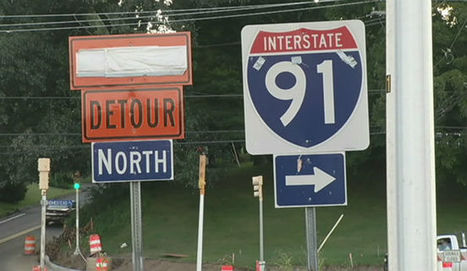 I-91 road work in Holyoke expected to end in 2015 - wwlp.com | Traffic Cones | Scoop.it