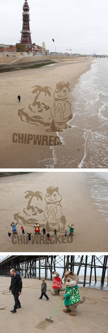 10 Amazing Sand Drawings | Strange days indeed... | Scoop.it
