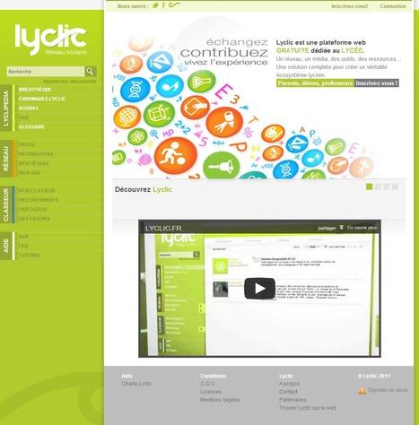 Réseau lycéen gratuit dédié à la réussite scolaire et au BAC - lyclic.fr | Time to Learn | Scoop.it
