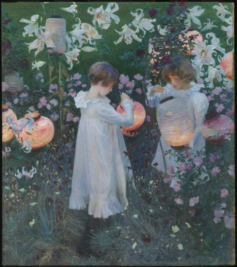 John Singer Sargent, 'Carnation, Lily, Lily, Rose' 1885–6 | Art for art's sake... | Scoop.it