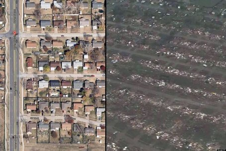 BEFORE/AFTER PHOTOS: Oklahoma Tornado Destruction | Photography and society | Scoop.it