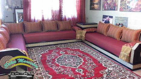 Décoration Salon Marocain Moderne 2015: Salon marocain étonnant | Salon-marocain | Scoop.it