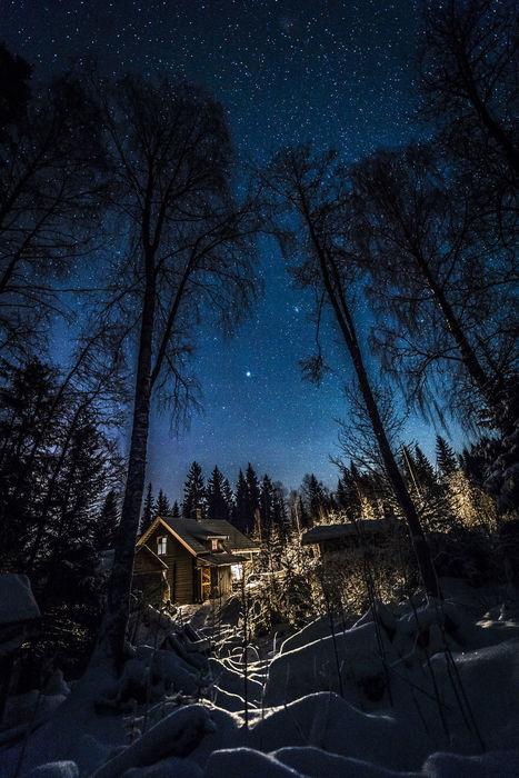 Winter cottage by Trond Eriksen | My Photo | Scoop.it