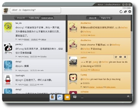 16 clients Twitter pour Linux Windows Mac FreeBDS iPhone Android Blackberry | Time to Learn | Scoop.it