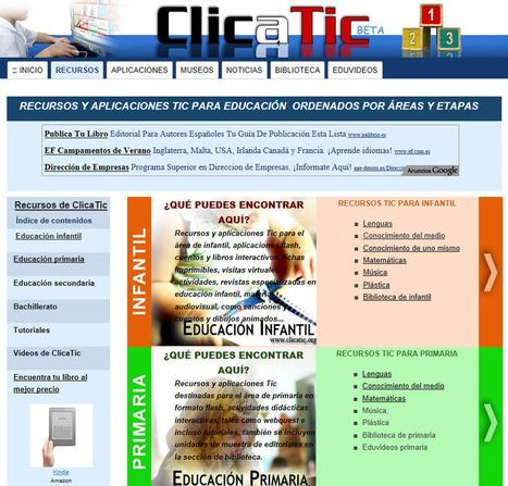 Clicatic   LAS TIC EN EL COLEGIO   Scoop.it