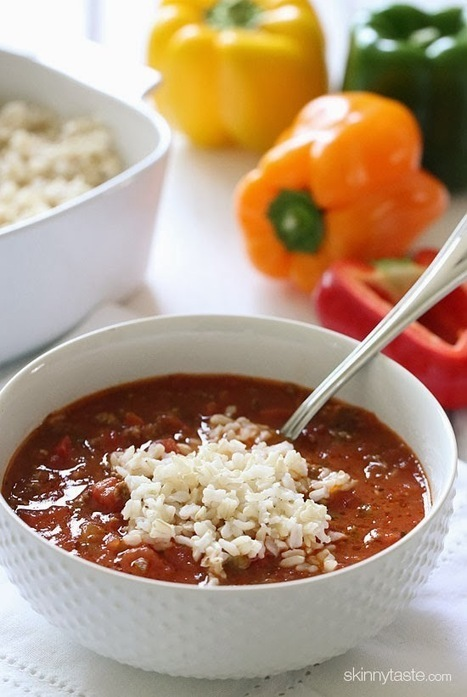 Stuffed Pepper Soup | Recipes | Scoop.it