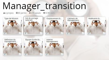 MANAGER DE TRANSITION - Qu'est ce que c'est ? - Coaching d'intelligence collective | Management éthique - spirituel - humaniste - social - économique & Emergence | Scoop.it