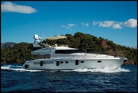 Erkurt (ex. Thanks) motor yacht Gocek 19m 6 guest boat rental | Yacht Charter & Blue Cruise Destinations | Scoop.it